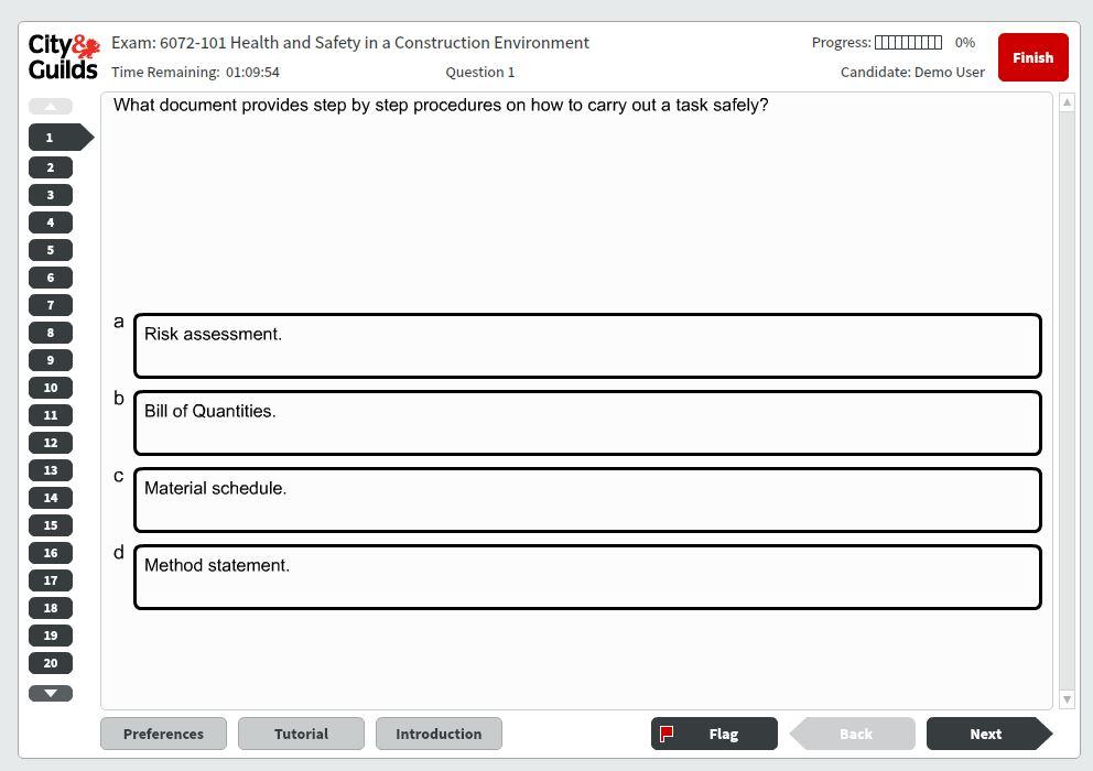 Karta CSCS - Kursy CSCS - ksiazka CSCS - egzamin cscs